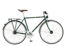 Motobecane Mirage is a stylish old school bike based on a light CroMo steel frame. With quality Shimano parts and dynamo hub it is already a classic.