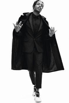 Asap rocky Daniel Jackson, Estilo Asap Rocky, Asap Rocky Fashion, Costume Rouge, Lord Pretty Flacko, Mode Hip Hop, A$ap Rocky, Inspiration Mode, Travis Scott