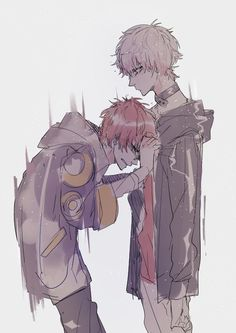 Mystic Messenger- Seven (Choi Saeyoung /Luciel)(707) and Choi Saeran (Unknown) #Otome #Game #Anime. Susanghan Messenger