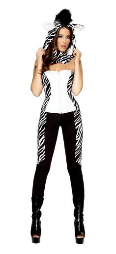 3546cce956f Plush Animal Costumes Zebra Halloween Carnival Christmas Cosplay Costumes  For Women Ladies Fancy Dress Party Roleplay