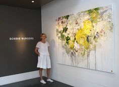 Abstract Floral Painter, Bobbie Burgers Creates 'Innocent Disobedience' at Caldwell Snyder Gallery, San Francisco