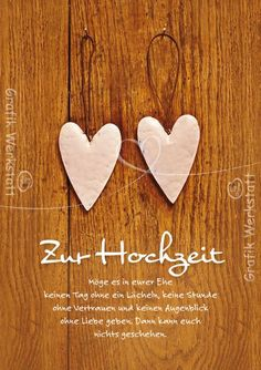 For the wedding - Hochzeit