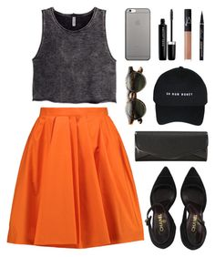 """""""dress coded"""" by bestraan ❤ liked on Polyvore featuring Carven, H&M, Chanel, J. Furmani, Native Union, Marc Jacobs and NARS Cosmetics"""