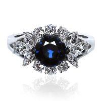 Elizabeth Sapphire Ring