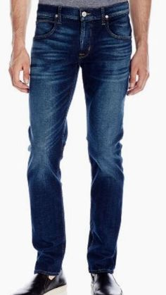Helix N56 Indigo Slim Boot Cut Men's 100% Cotton Jeans Size 34 X 34 NWT #Helix #BootCut