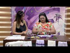 Mulher.com 13/03/2015 Valéria Soares - Pontos de bordados com linhas e fitas Parte 1/2 - YouTube