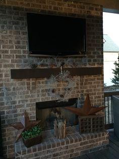 Cover porch Christmas