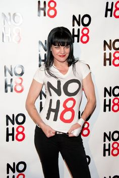 No H8 Pauley Perrette