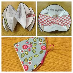 Mothers Day Freebie!  Make mom a foldable circle card!