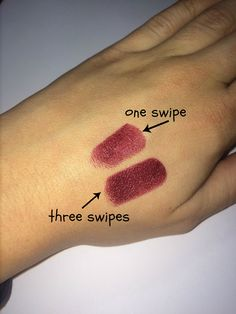 The best drug store burgundy lipstick out there and it's only $.99! Via thebeetique.blogspot.com