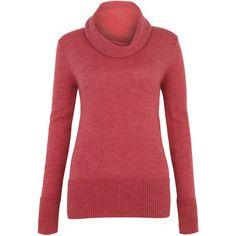 Merino Alpaca Chunky Cowl Sweater ($175) ❤ liked on Polyvore