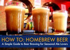 DIY: How to homebrew beer
