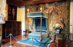 la chambre de Diane de Poitiers, Chenonceau