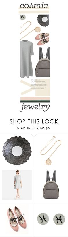 """""""What's Your Sign: Cosmic Jewelry"""" by ellare88 ❤ liked on Polyvore featuring Studio A, BROOKE GREGSON, Uniqlo, STELLA McCARTNEY, Boden, NOVICA and Rifle Paper Co"""