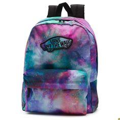 mochila vans rosa y azul