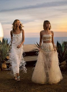 Big Sur With Taylor Swift and Karlie Kloss