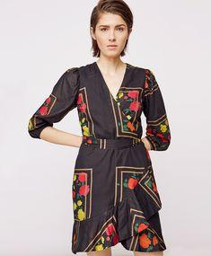 Stylein PF18 Fall 2018, Wrap Dress, Dresses, Fashion, Vestidos, Moda, Wrap Around Dress, Wrap Dresses, Fasion