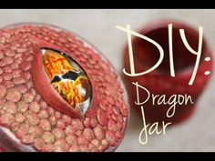 DIY: Dragon Jar in honor of Smaug from the Hobbit. This would probably also work well for someone looking to decorate like Daenerys Targaryen from Game of Thrones as well
