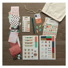 new - Planner Love Embellishment Kit! Show your planner some love :)