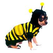 Puppe Love Bumble Bee Dog Costume