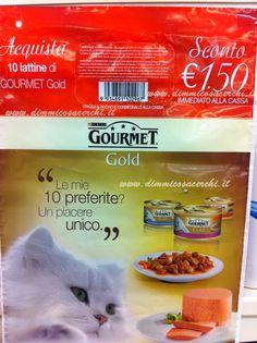 Gourmet ti offre un coupon di 1,50 euro