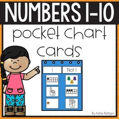 This Numbers 1-10 Pocket Chart Cards is perfect for PreK & Kindergarten classrooms. Pack includes 1-10 pocket chart numbers cards and are great for a sorting activity in whole groups or centers. Preschoolers & Kinders will sort the cards to show examples & non-examples of each number. Each number has examples that are given in number word plus the number shown on fingers, plastic cubes, a ten frame, blocks & counting bears. Perfect for math centers, stations, review, or early or fast finishers.