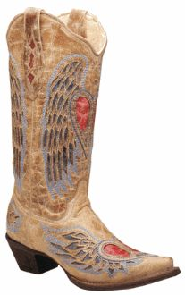Corral Boots A1976 Angel Wing Boot