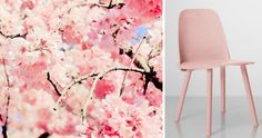 Muuto spring summer pink chair