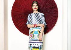 A linda Mariana Cassou, criadora do e-commerce Gallerist, em entrevista ao site Harper's Bazaar Brasil. #moda #estilo