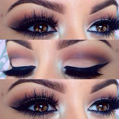 Gorgeous Bold Smokey Eyes