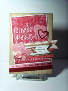 Laura's Bingo Banner Bingo Cards, Vintage Crafts, Banners, Card Ideas, Valentines Day, Create, Decor, Valentine's Day Diy, Decoration