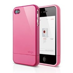 Amazon.com: elago S4 Glide Case for AT&T, Sprint and Verizon iPhone 4/4S - eco friendly packaging (Hot Pink): Cell Phones & Accessories