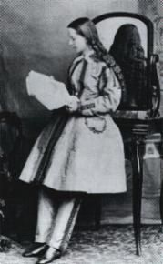 Dr. Mary Walker, medical doctor, c. 1865; photo from Gernsheim Colleciton