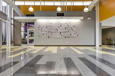 vct design | Color Vct Hallway Patterns