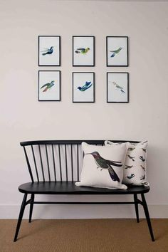 love this idea, except with different prints/pillows