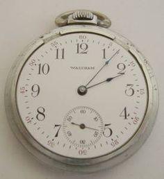 Original Waltham 16s pocket watch.