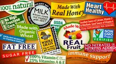 Another great article from Kimberly Snyder about eating well: food industry labels and practices of which to be aware.