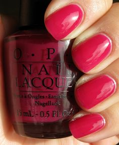 OPI Houston We Have A Purple (Texas Collection), sorbet, jelly