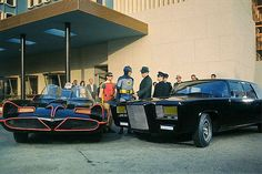 holy george barris!  batmobile and black beauty 1966 by gsjansen, via Flickr