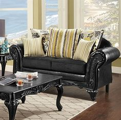Traditional Crawford Loveseat -- Click image for more details.
