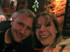 It must have been the mistletoe... Happy 20th anniversary to my hubby. http://www.astarinmyownuniverse.com/2014/12/18/advent-calendar-2014-day-18-it-must-have-been-the-mistletoe/