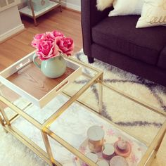 My Vittsjo coffee table - an easy and stylish Ikea hack!