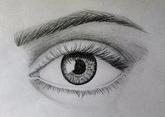 easy draw eye beginners drawing pencil eyes drawings simple sketches sketch learn realistic