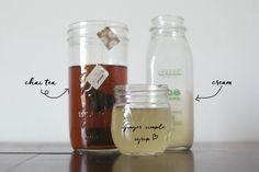 Iced Ginger Chai Tea Recipe