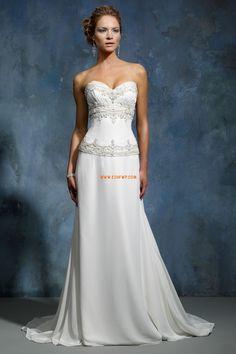 Pláž / Destinace Srdíčko Bez rukávů Luxusní svatební šaty