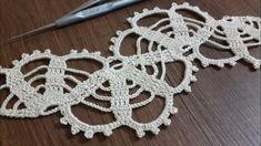 Art Au Crochet, Crochet Mat, Crochet Dollies, Crochet Lace Edging, Filet Crochet, Learn To Crochet, Irish Crochet, Crochet Boarders, Crochet Motif Patterns