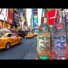 New York Ciy of Dreams   #aguadepiedra #water #gourmetwater #agua #newyork #usa #timessquare