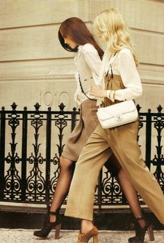 Anne Kenny & Kirby Kenny - Vogue Russia  August 2010