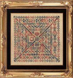 English Garden - Cross Stitch Pattern