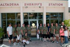 Altadena Deputies participated in the Memorial Torch Run 2013. Altadena Station is the last leg in the Torch Run that runs from Friday, May 17 through Sunday May 19. Over 60 runners, supporters and staff were out to commemorate the memorial run. More Photos: https://www.facebook.com/media/set/?set=a.621741551186863.1073741837.460414603986226&type=3